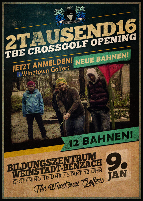 2TAUSEND16 - The Crossgolf Opening